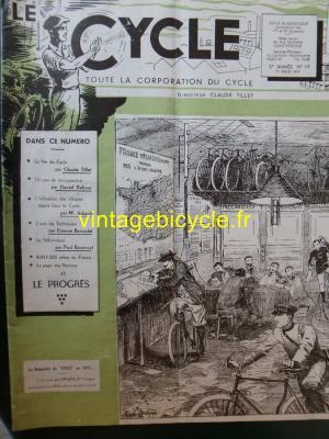 LE CYCLE 1947 - 07 - N°19 Juillet 1947