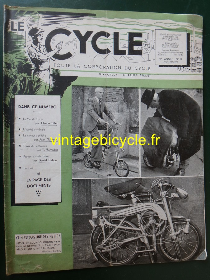 Routens vintage bicycle fr 2 copier
