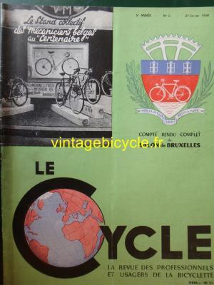 LE CYCLE 1950 - 01 - N°5 Janvier 1950