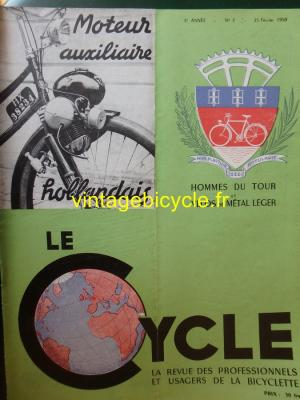 LE CYCLE 1950 - 02 - N°7 Fevrier 1950