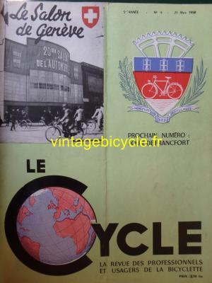 LE CYCLE 1950 - 03 - N°9 Mars 1950