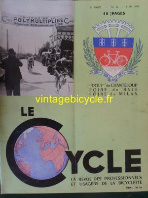 LE CYCLE 1950 - 05 - N°12 Mai 1950
