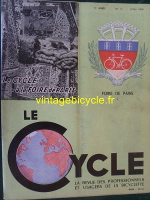 LE CYCLE 1950 - 05 - N°13 Mai 1950