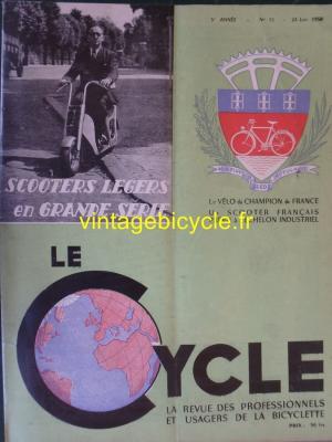 LE CYCLE 1950 - 06 - N°15 Juin 1950