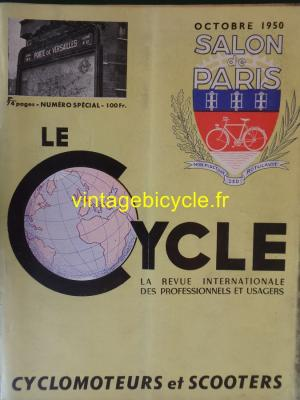 LE CYCLE 1950 - 10 - Octobre 1950 SALON de PARIS N°1