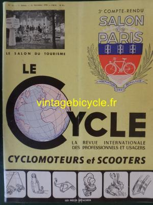 LE CYCLE 1950 - 10 - Octobre 1950 SALON de PARIS N°3