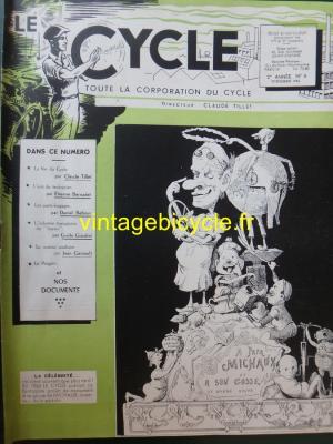 LE CYCLE 1946 - 12 - N°6 Decembre 1946