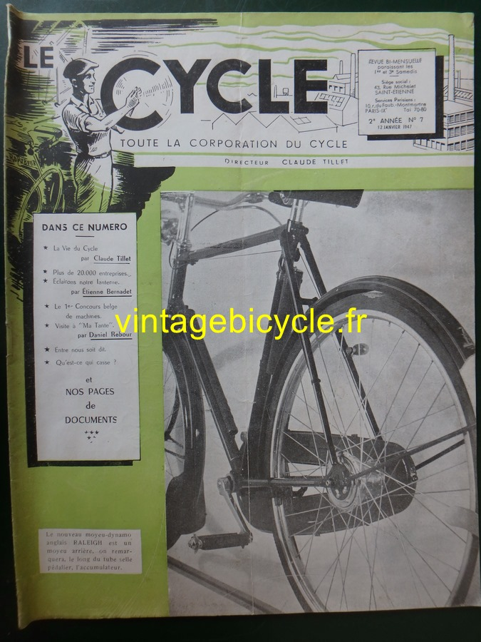Routens vintage bicycle fr 7 copier