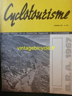 Cyclotourisme 1967 - 10 - N°150 Novembre 1967