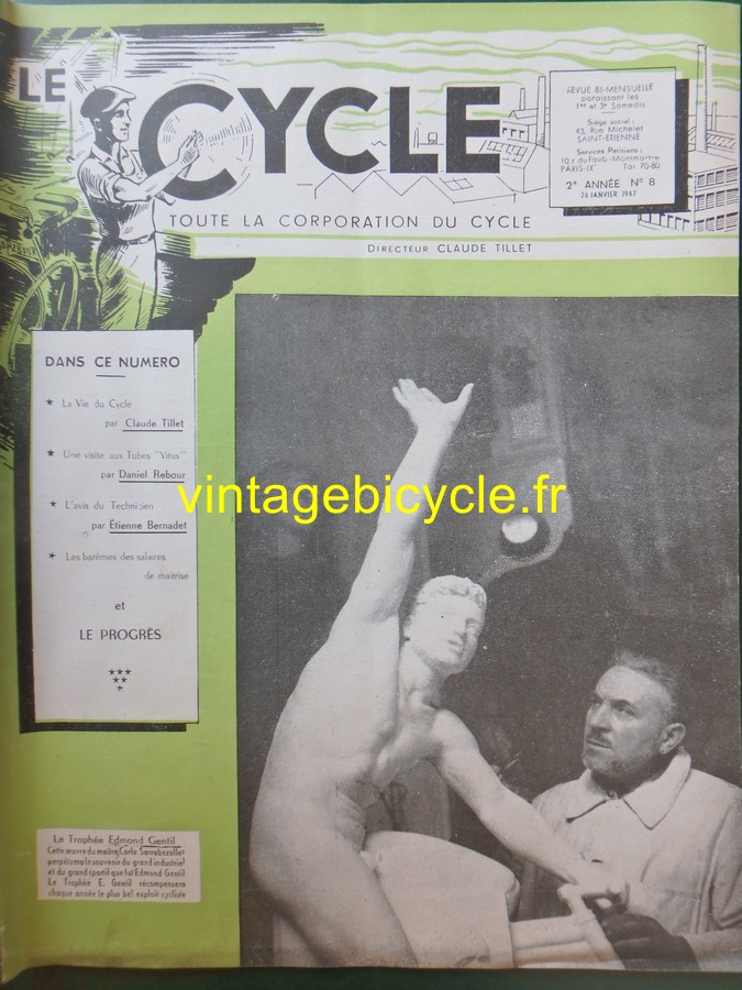 Routens vintage bicycle fr 8 copier