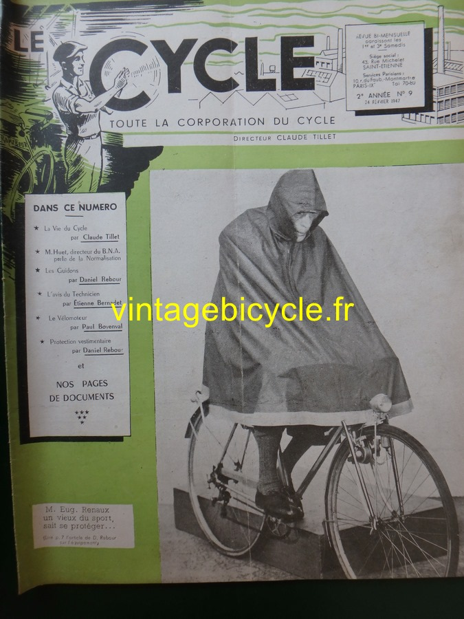 Routens vintage bicycle fr 9 copier