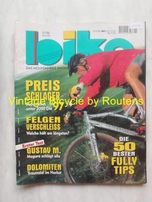BIKE 1996 - 11 - N°11 Novembre 1996