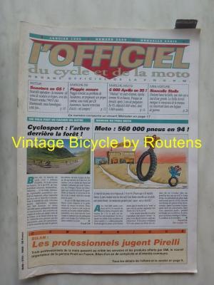 L'OFFICIEL du cycle et de la moto 1995 - 01 - N°3599 Janvier 1995