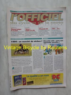 L'OFFICIEL du cycle et de la moto 1995 - 02 - N°3600 Fevrier 1995