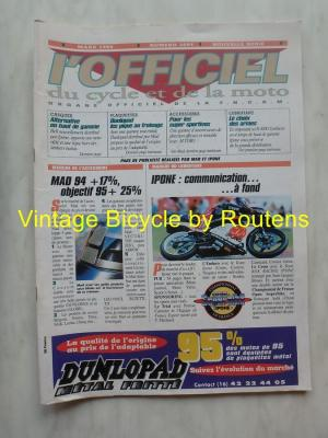 L'OFFICIEL du cycle et de la moto 1995 - 03 - N°3601 Mars 1995