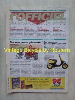 L'OFFICIEL du cycle et de la moto 1995 - 04 - N°3602 Avril 1995