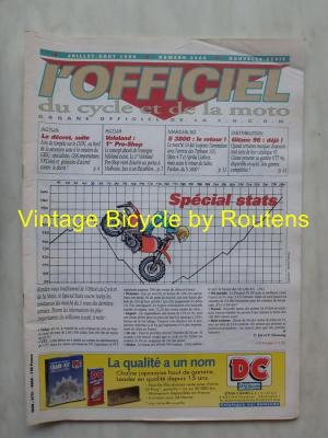 L'OFFICIEL du cycle et de la moto 1995 - 07 - N°3605 Juillet/Aout 1995