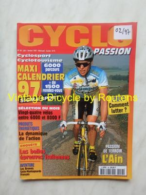 CYCLO PASSION 1997 - 02 - N°26 Fevrier 1997