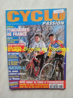 CYCLO PASSION 1997 - 03 - N°27 Mars 1997