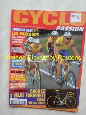 CYCLO PASSION 1997 - 04 - N°28 Avril 1997