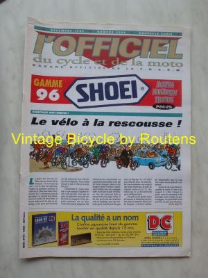 L'OFFICIEL du cycle et de la moto 1995 - 12 - N°3609 Decembre 1995
