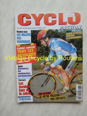 CYCLO PASSION 1997 - 08 - N°32 Aout 1997