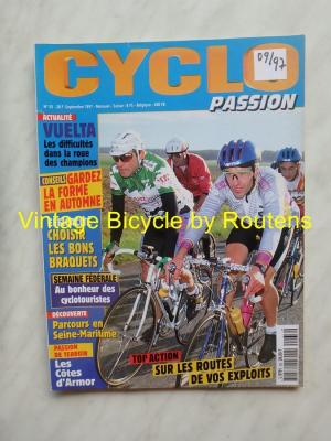 CYCLO PASSION 1997 - 09 - N°33 Septembre 1997