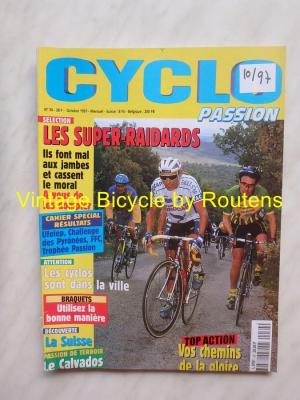 CYCLO PASSION 1997 - 10 - N°34 Octobre 1997