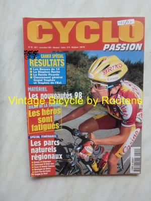 CYCLO PASSION 1997 - 11 - N°35 Novembre 1997