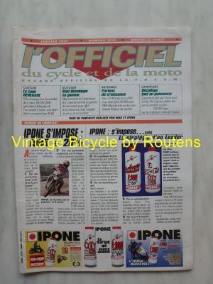L'OFFICIEL du cycle et de la moto 1996 - 01 - N°3610 Janvier 1996