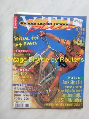 VELO TOUT TERRAIN 1997 - 08 - N°4S Aout 1997