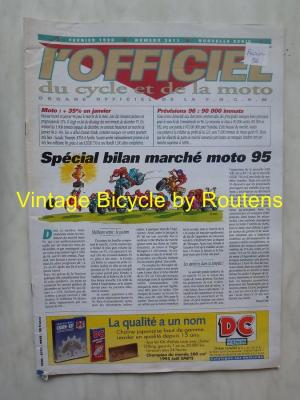 L'OFFICIEL du cycle et de la moto 1996 - 02 - N°3611 Fevrier 1996