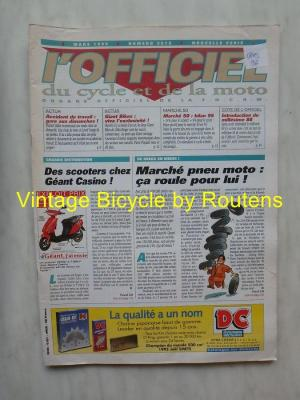 L'OFFICIEL du cycle et de la moto 1996 - 03 - N°3612 Mars 1996