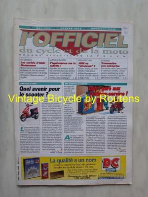 L'OFFICIEL du cycle et de la moto 1996 - 05 - N°3614 Mai 1996