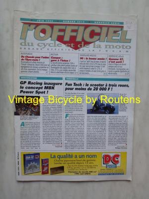 L'OFFICIEL du cycle et de la moto 1996 - 06 - N°3615 Juin 1996