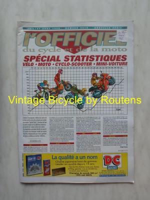 L'OFFICIEL du cycle et de la moto 1996 - 07 - N°3616 Juillet:Aout 1996