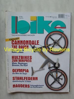 BIKE 1996 - 09 - N°9 Septembre 1996