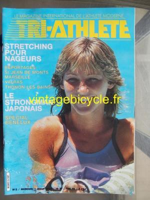 TRI-ATHLETE - 1985 - 08 - N°3 aout 1985
