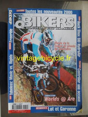O2 BIKERS - 1999 - 10 - N°54 octobre 1999