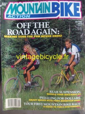 MOUNTAIN BIKE ACTION 1992 - 07 - N° 7 juillet 1992