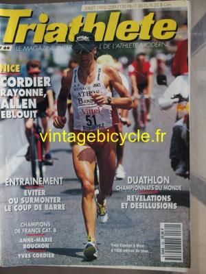TRI-ATHLETE - 1992 - 07 - N°69 juillet 1992