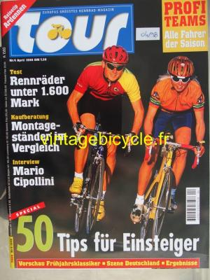 TOUR 1998 - 04 - N° 4 avril 1998