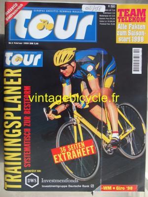 TOUR 1998 - 02 - N°2 fevrier 1998
