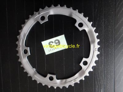 SHIMANO 42t Chainring Aluminium Hard anodized SG A 9S bcd 130mm VGC