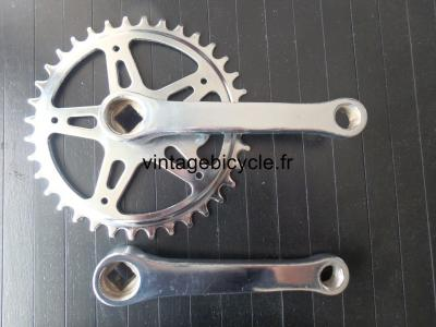 Steel Crankset 36t 125mm NOS