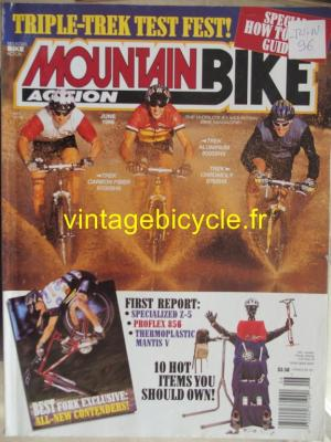 MOUNTAIN BIKE ACTION 1996 - 06 - N° 06 juin 1996