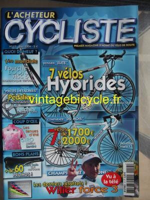 L'ACHETEUR CYCLISTE 2004 - 06 - N°13 juin 2004