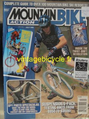 MOUNTAIN BIKE ACTION 1996 - 07 - N° 07 juillet 1996