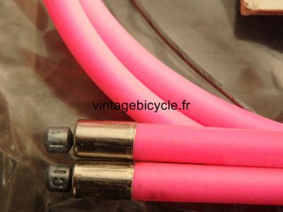 CASIRAGHI Corsa Hi Tech MTB Bicycle Derailleur Cables & Housing NOS Neon pink