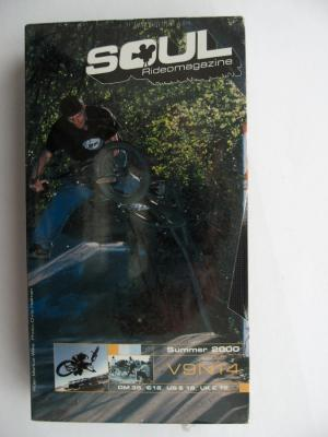 SOUL SUMMER 2000 (Bandits Production 2000) BMX Video DVD VERY RARE NEW NOT OPEN